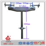 足場システムアクセサリの鋼鉄調節可能なUヘッドねじ/基礎ジャック/ガードの波カッコフレーム