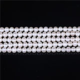 Стренга перлы формы картошки перлы 5mm 6mm качества AAA пресноводная
