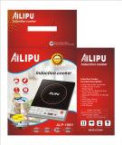 Ailipu Brand 2000W Placa de cozedura de indução por botão Alp-18b1