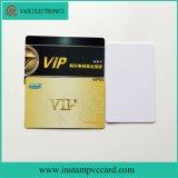 Tarjeta imprimible del PVC del espacio en blanco de la inyección de tinta de los enchufes de fábrica