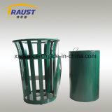 옥외를 위한 강철 물자 무쇠 쓰레기통