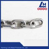 4mm16.7mm de Keten van de Link van het Roestvrij staal ASTM80