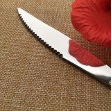 Посуда из нержавеющей стали ужин в западной части ножа