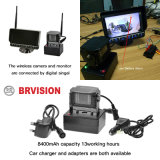 H 7 pulgadas del sistema de vigilancia inalámbrica digital