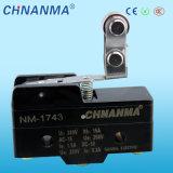 Commutateur micro à bouton-pression 15A utilisé pour l'outillage électrique