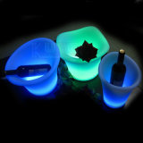 Cercle LED Ice Bucket Open Mouth Wine Bucket Glowing Bucket