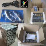 Cabezal movible de la etapa de DJ Luz RGBW DMX512 Controlador de iluminación