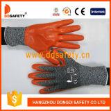 Ddsafety 2017 Spandex des gants de sécurité et de nylon enduit PU adopté ce