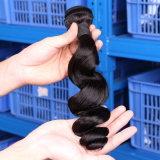 El tejer brasileño de la extensión del pelo humano (QB-BVRH-LW)