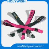 Wristband liso barato do poliéster da melhor energia