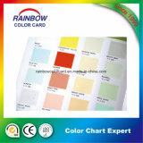 Nueva tarjeta de la impresión de la capa de pintura del estilo