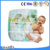 Com indicador de molhamento foliar de algodão barato fraldas para bebé