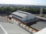 La configuration complète de l'ensemble de l'usine de détergents à grande échelle