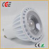 세륨 & RoHS 증명서를 가진 5W GU10 LED 반점 전구 또는 빛