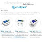 Kühles Technologie-Fett, das das fette einfrierende Coolsculpting Cryolipolysis Vakuumfettabsaugung-Maschine FDA Cer abnehmend genehmigt schmilzt