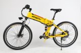 26 Zoll elektrisches Fahrrad faltend
