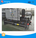 Compressor de parafuso do chiller do parafuso arrefecidos a água para consumo industrial