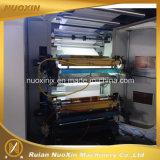 130mm/Min 4カラープラスチックフィルムのフレキソ印刷の印字機