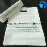 Qualitäts-Plastikeinkaufen-Geschenk gestempelschnittener Beutel