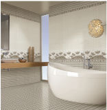 azulejo interior rústico esmaltado de la pared de la porcelana del material de construcción de 300X600m m (6919)