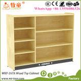 Новая твердая древесина ягнится мебель питомника шкафа хранения игрушек