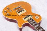 Guitarra elétrica do estilo do Lp da flama do tigre 1959 R9 (GLP-68)