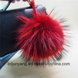 Peles de Raccoon Real Chapéus com decoração de pérolas de tricotar