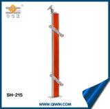 Pasamanos de rojo de aluminio de alta calidad