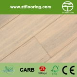 Engineered Strandwoven Bamboo HDF Flooring Handscraped crémeux