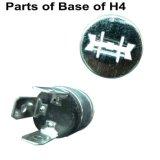 Longlife H4 P45t에 의하여 집중되는 자동 할로겐 전구 또는 램프