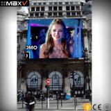 Promoção de sistemas de monitor eletrônico P5 Video wall de LED para publicidade exterior