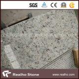 Azulejo blanco de piedra popular del granito del Brasil Rose para el suelo y la pared