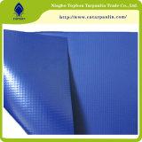 480gsm encerado tecido inflável PVC azul