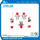 Manutenção programada simples do adaptador da fibra óptica para o cabo ótico da fibra