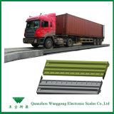 Le service SCS-100 3x16m certifiés échelles poids du véhicule