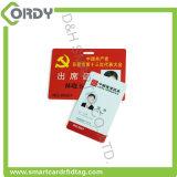 Smart card feito sob encomenda da identidade de RFID com a microplaqueta de MIFARE DESFire EV1 2k