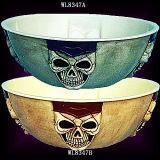 Le meilleur cadeau d'artisanat Set / Halloween Party Fournitures / Vaisselle - Bol de crânes de l'écrou (WL8347)