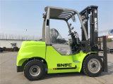 Chariot élévateur à moteur diesel d'engine de Snsc 3500kg Isuzu