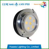Luz subacuática inoxidable del infante de marina de la lámpara del acero 6W LED