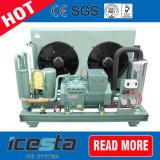 薄片の製氷機のための冷凍の凝縮の単位