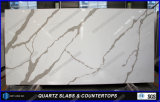 Calacatta Home Depotの中国からの人工的な水晶石のテーブルの上