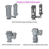 Abwasser-Doppelkarosserien-Kombinations-Luft-Freigabe-Ventil