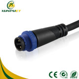 LED de luz de sensor exterior impermeable conector de la luz de la calle