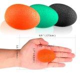 Splat TPR relaja negro de la bola del huevo del alivio de tensión