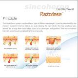 FDAの公認のSincoheren Razorlaseのダイオードレーザーの毛の取り外しの美装置