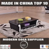Modernes Chesterfield-ledernes Sofa (Lz1888)