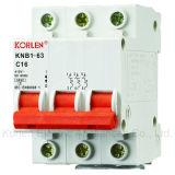 Высокий ломая автомат защити цепи Knb1-63 емкости миниый
