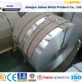 Ba de la surface de la bobine en acier inoxydable