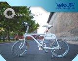 Système blanc de Pedelec de couleur de Matt de vélo de ville d'ion électrique de Tsinova