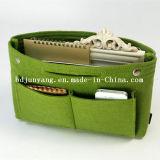 Venda quente Custom pequeno saco cosméticos Shell de feltro
